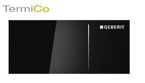 Geberit Omega 70 zdalny przycisk spłukujący szkło czarne 115.084.SJ.1