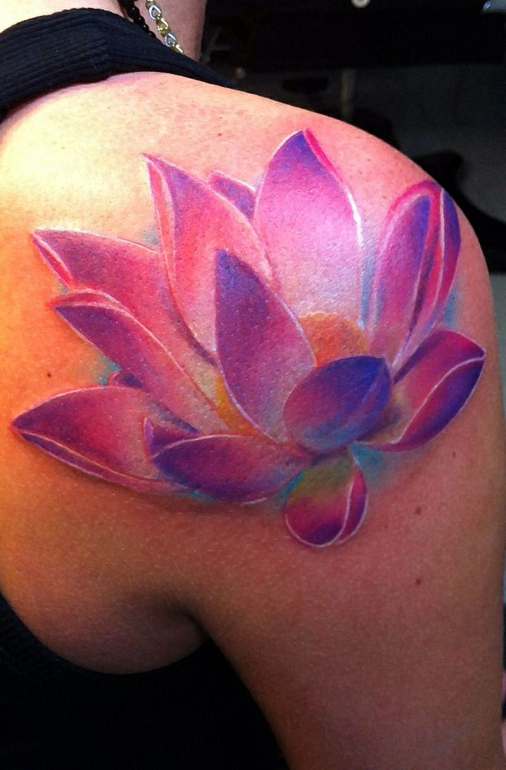 Lotus flower tattoo - Collect All Diy Watercolor Tattoo Ideas On Lotus Watercolor Tattoo Flower Watercolor Tattoo To