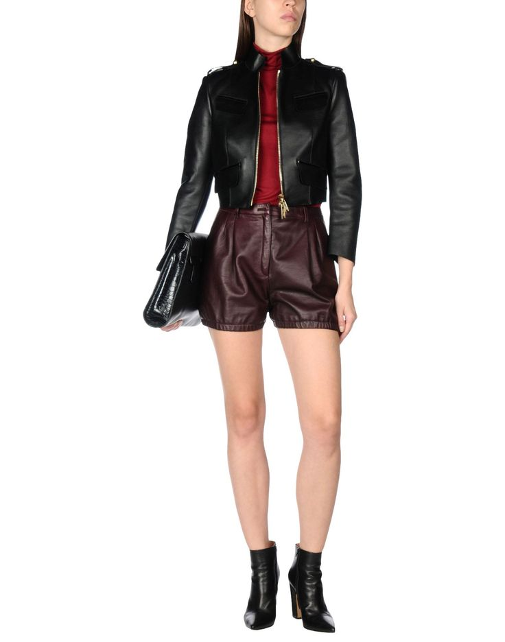 Dsquared2 Кожаная Куртка Для Женщин - Кожаные Куртки Dsquared2 на YOOX - 41672872JG