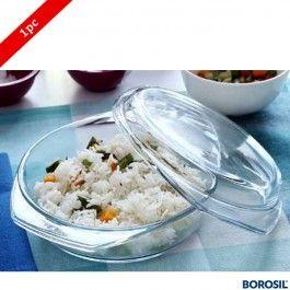 Borosil Round Cerole 0 7 Ltr
