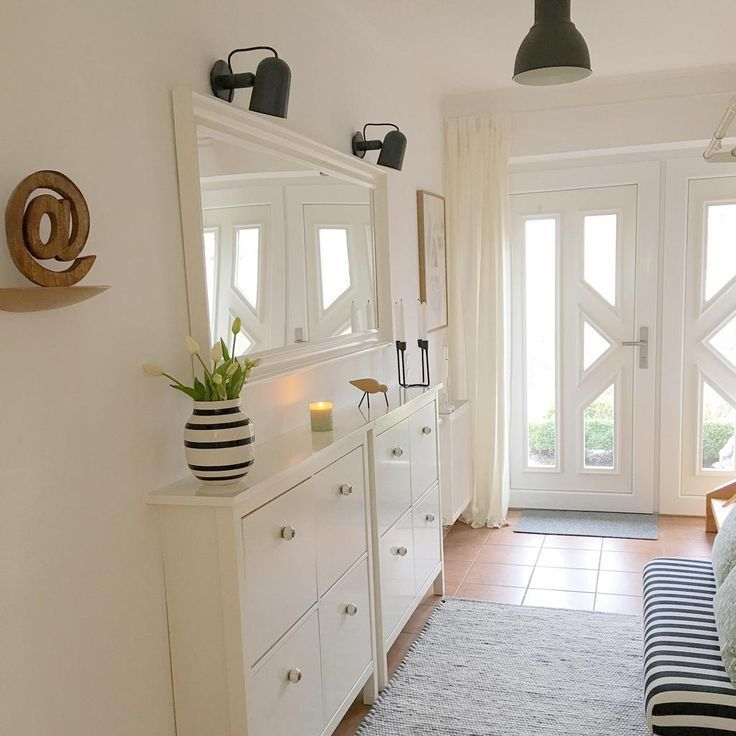 Flur – Kommen Sie in #living #Flur #mirror #Schuhschrank #Skandinavischer #Korridor