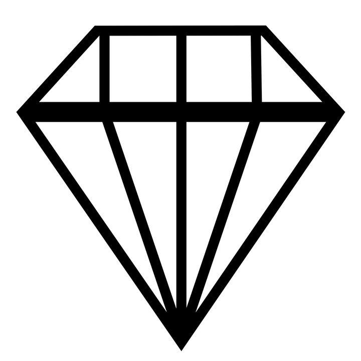 Diament, Błyskotliwy, Logo
