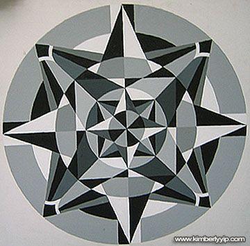 radial balance 2 graphic design class pinterest