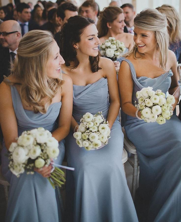 Watters Bridal Gowns Pale Blue Chiffon Junior Bridesmaid Dresses Canada Custom Grecian Style Bridesmaid Dresses One Shoulder Floor Length Maid Of Honor Dress Black And Red Bridesmaid Dresses From Graceful_ladies, $67.44| Dhgate.Com