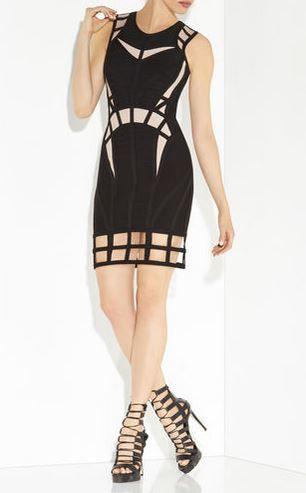 Sekai cage cutout dress!