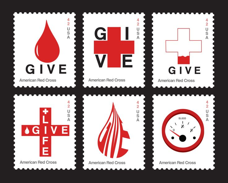 American Red Cross Postage Stamps