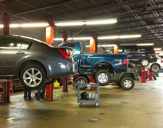 car repairs preston