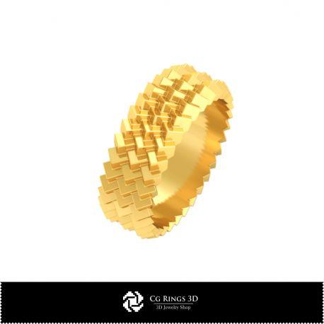 3D CAD Wedding Ring