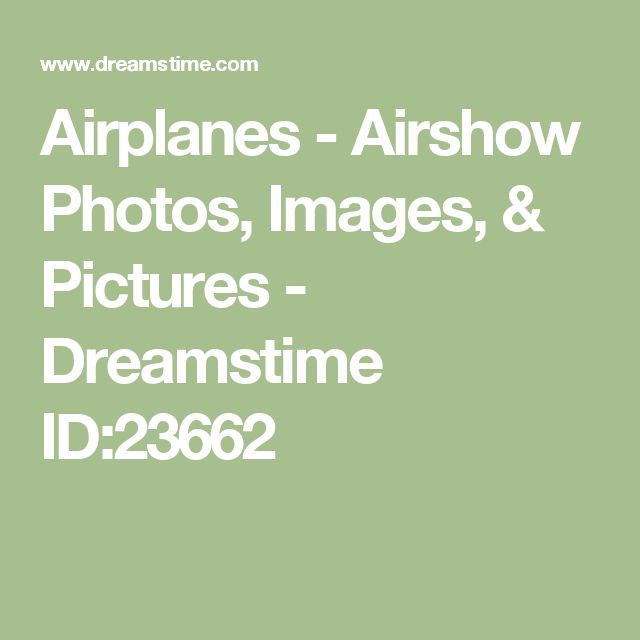 Airplanes - Airshow Photos, Images, & Pictures - Dreamstime ID:23662