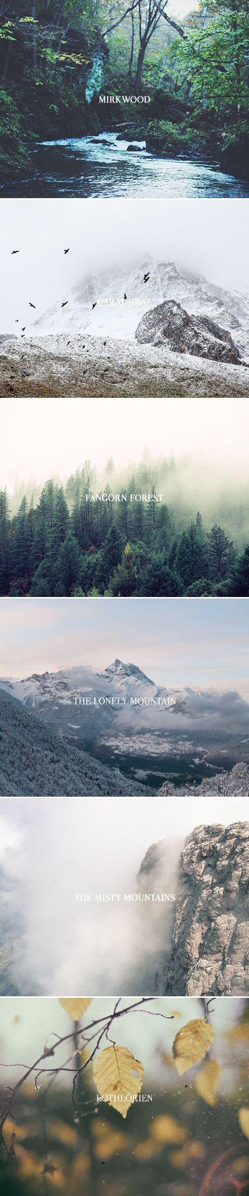 Middle-earth + aesthetics pt. I