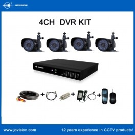 The Jovision self-developed JVS-D6100 Series Network DVR Kit is excellent value with all you need to be monitoring remotely in no time! Our kit includes the D6104 DVR, 4 Outdoor Cameras and 4 x 18m cables and associated power requirements. Only $399.95 at Spexis Technology!