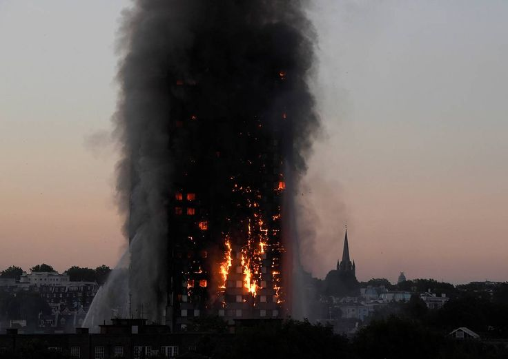 """London tower fire: British government sends in task force https://tmbw.news/london-tower-fire-british-government-sends-in-task-force  The British government is sending in outside experts to help oversee recovery efforts from the Grenfell Tower fire, after strong criticism of the local council's response.Communities Secretary Sajid Javid says an independent task force will help local officials deal with the """"longer-term recovery.""""READ MORE: London fire: Gripping video shows moment…"""