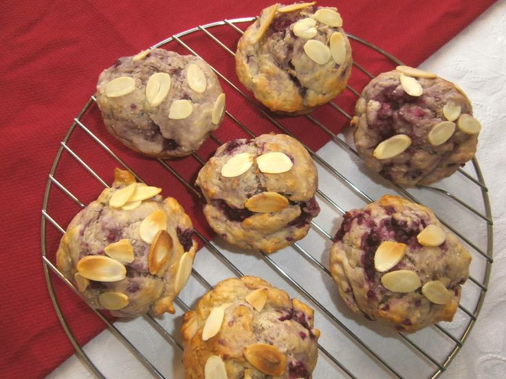 Another tasty fibre-off entry from Carole - raspberry, coconut and chia seed muffins. Chia seeds are soaked in coconut milk and used as a replacement for milk in the muffin mix. #CSIROhealth