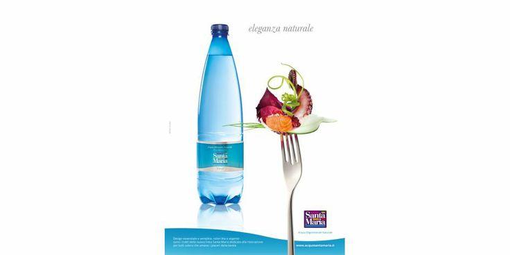 Campagna pubblicitaria Acqua Santa Maria, linea ho.re.ca