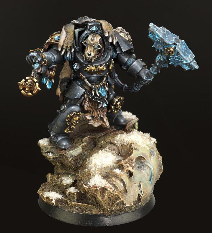 Spacewolf Terminator, Space Marines, Warhammer 40k