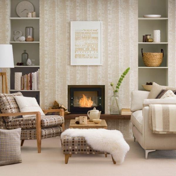 Neutral Wallpaper For Living Room Part 65
