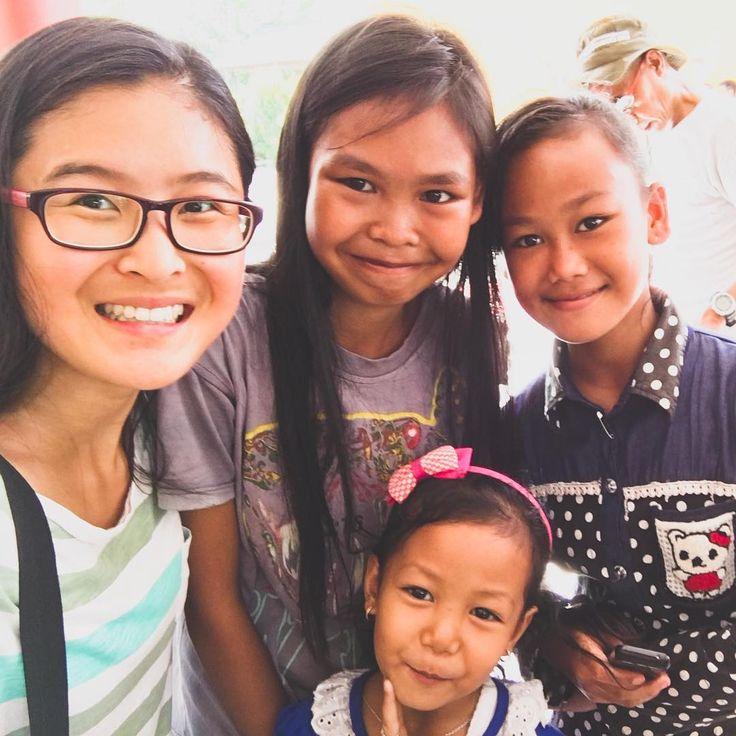 I met the sweetest children in #WonderfulIndonesia. 💕