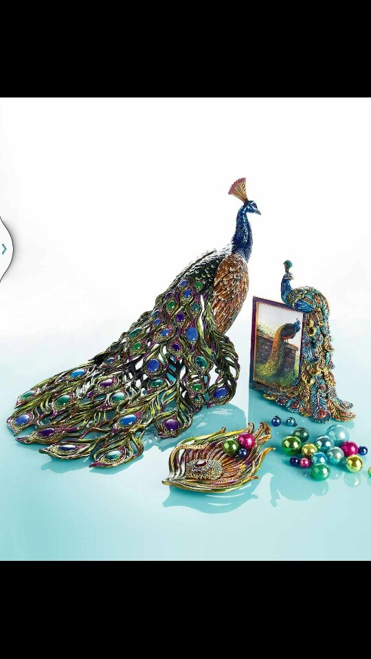 Peacock decor For the Home Pinterest