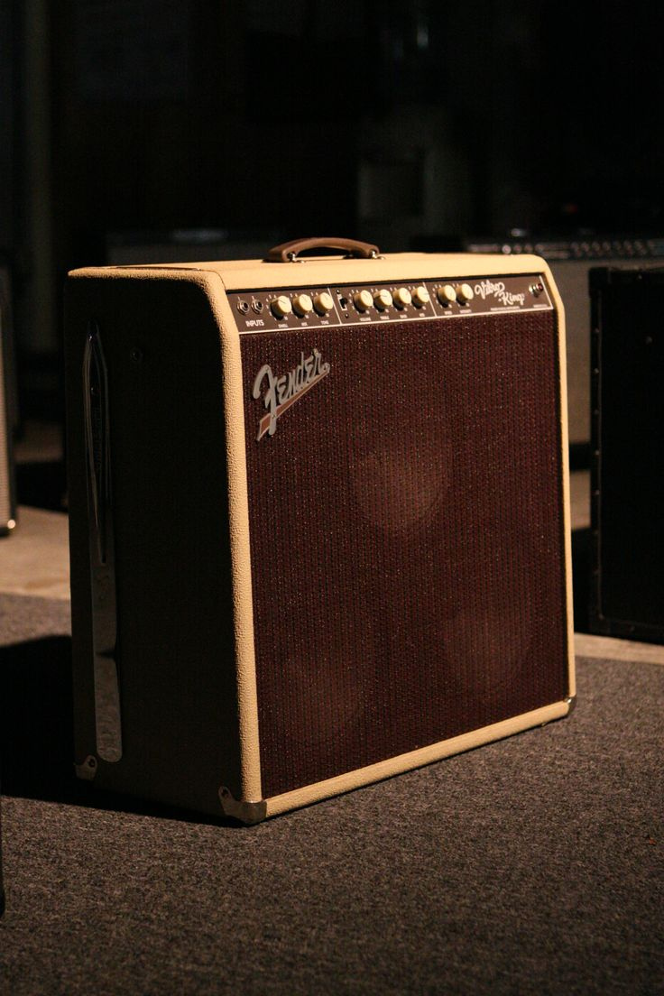 Fender VibroKing - Shared by The Lewis Hamilton Band - https://www.facebook.com/lewishamiltonband/app_2405167945 - www.lewishamiltonmusic.com