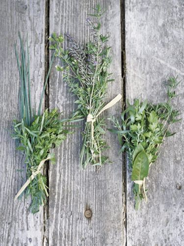 To keep herbs tasting fresh for up to a month, store whole bunches, washed and sealed in plastic bags, in the freezer. When you need them, they'll be easier to chop, and they'll defrost the minute they hit a hot pan. - HouseBeautiful.com