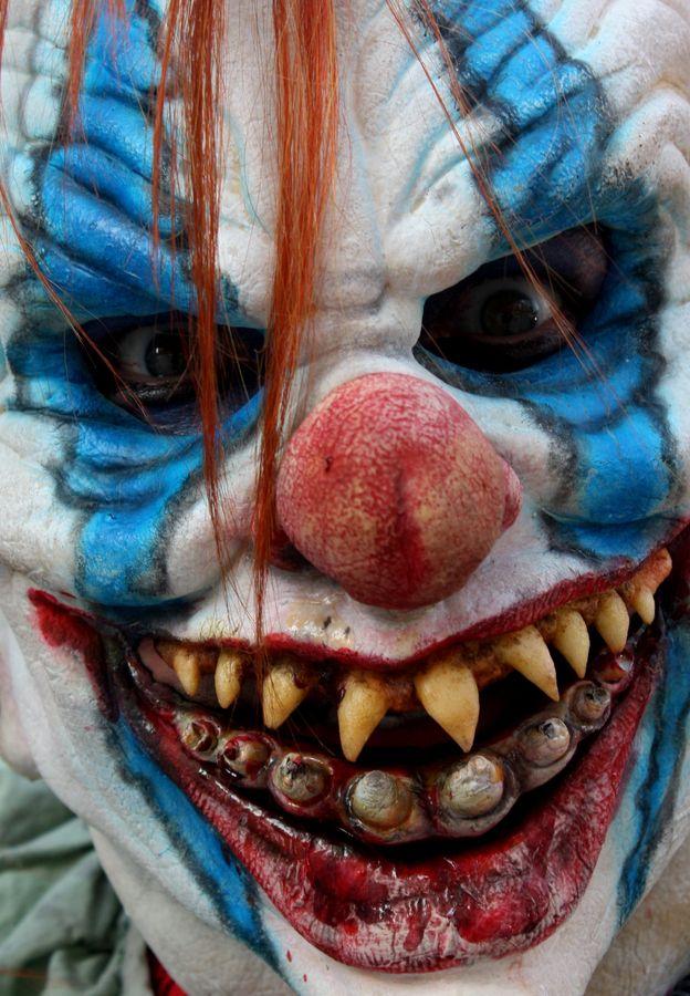 Spirit halloween contest...boo!!!:)(veronica d) Scary Clown by SE Blackwell, via 500px