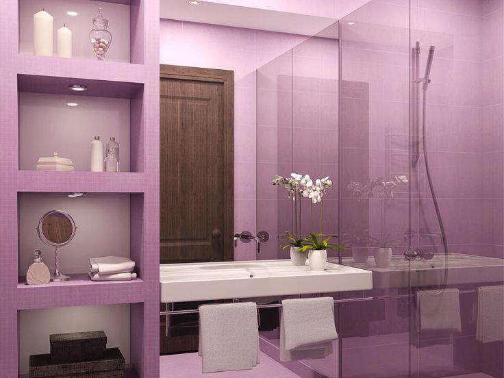 purple and gray bathroom accessories. Best 25  Purple bathroom paint ideas on Pinterest bathrooms inspiration and mirrors