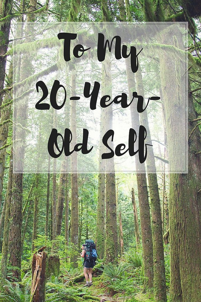 What I wish I could have told my younger self. What would you have said?