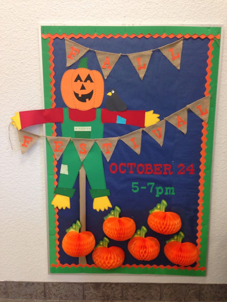 Fall Festival Bulletin Board