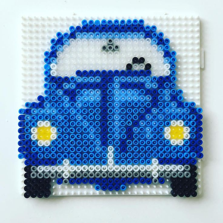 VW Beetle hama beads by peetahtinen