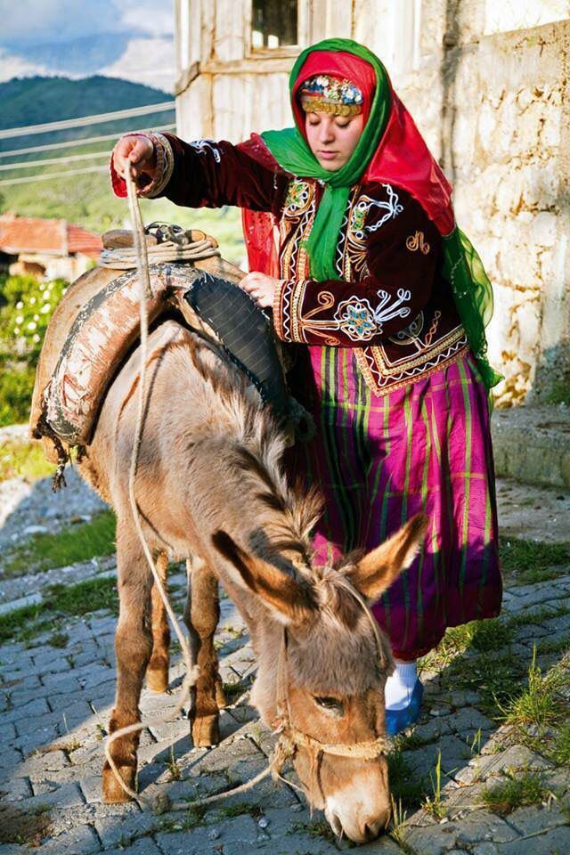 new bride Zulfu Cakmak in the village of Kesme , Turkey