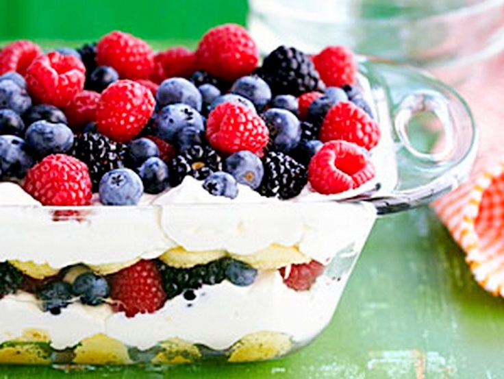 Berry-misu cake, Perfect for entertaining, this dish can be prepared in advance so theres little fuss on the day.
