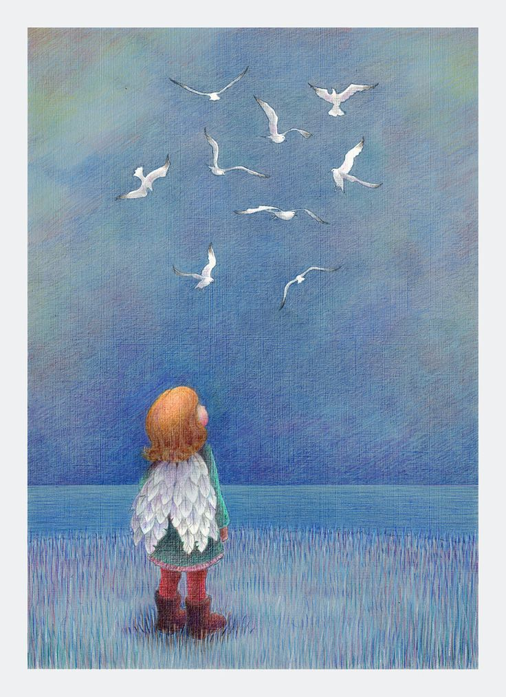 Grounded - Kathy Hare, via Etsy.