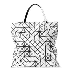 BAO BAO ISSEY MIYAKE Tote bag BILBAO PRISM BASICS BB55AG043 White JAPAN For Sale - 01