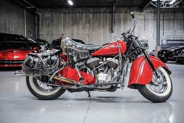 1946 Indian Chief Black Hawk Indian Motorcycle Vintage Indian Motorcycles Indian Motorcycle Scout