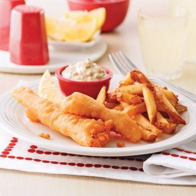 Fish and chips - Soupers de semaine - Recettes 5-15 - Recettes express 5/15 - Pratico Pratique