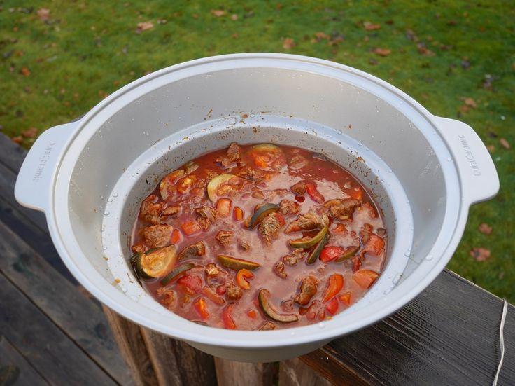 Gulasch i Crock-Pot, Crock-Pot, Gulasch, recept Crock-Pot, Crock-Pot 6,0 sauté, Crock Pot, långlagad gulasch, recept gulasch i Crock-Pot