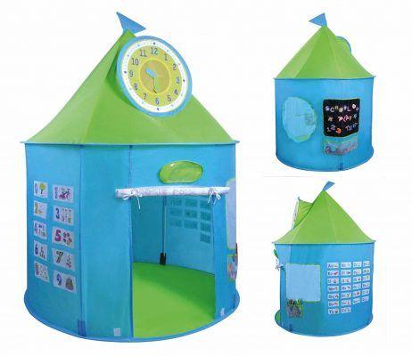 Knorrtoys 55802 tienda con actividades educativas por 25,76 €  Incluye un #reloj con manillas móviles, superficie #magnética con letras magnéticas y bolsa, superficie para pintar con #rotuladores, ABC y números.   #chollos #juguetes #ofertas