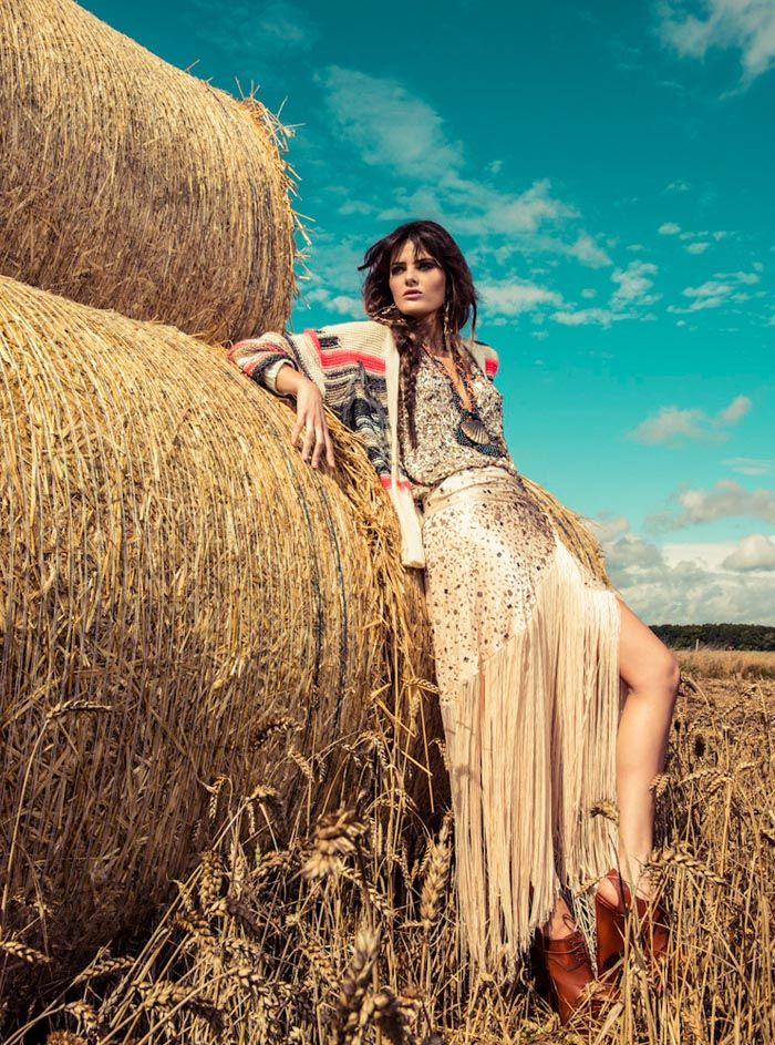 Isabeli Fontana Wows in Colorful Fashion for Vogue Brazil's December Cover Shoot