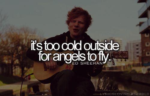Ed sheeran love him.