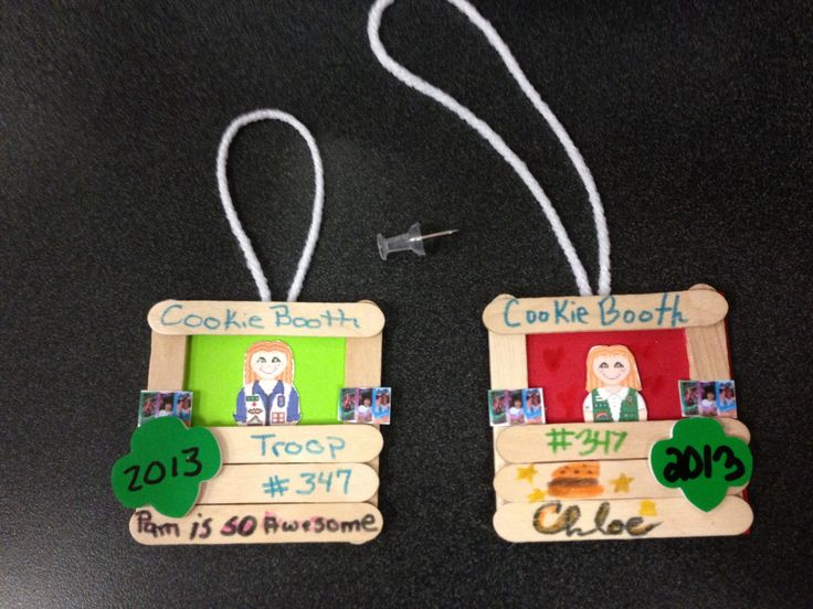 Homemade Christmas Ornaments For Girl Scouts : Best images about girl scouts on