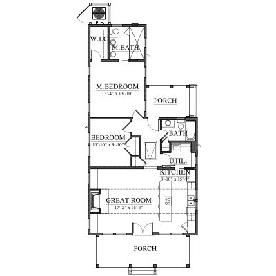 Allison ramsey architects floorplan for saluda river Allison ramsey house plans