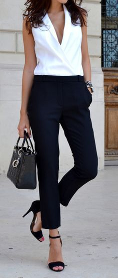 Women's fashion | Chic work wear