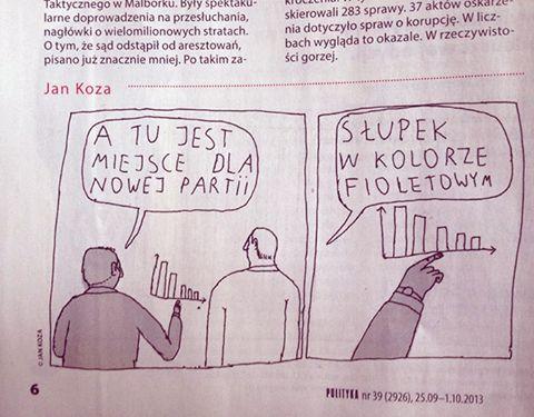 PKW odłożyła ogłoszenie wyroku do 22:30. Na radość z wyniku wyborów przyjdzie nam poczekać trochę dłużej, do jesieni. Niektórzy czekają już od 2013 Emotikon wink (rys. Janek Koza) http://www.partiarazem.pl