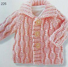 Вязание для новорожденных и малышей одежды со схемами и описанием. - страница 4