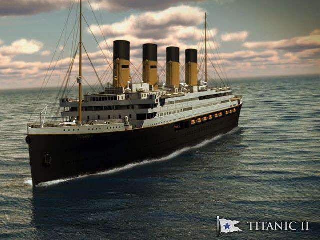 Billionaire unveils new 'Titanic II' cruise ship design