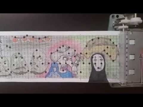 Studio Ghibli Music Box Medley--10 feet long! - YouTube