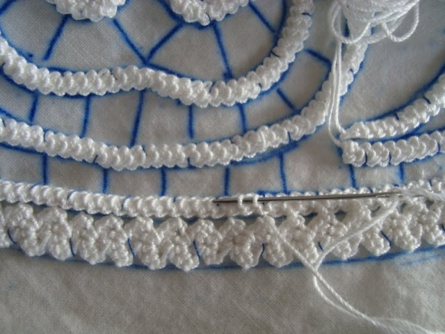 romanian point lace - Google Search