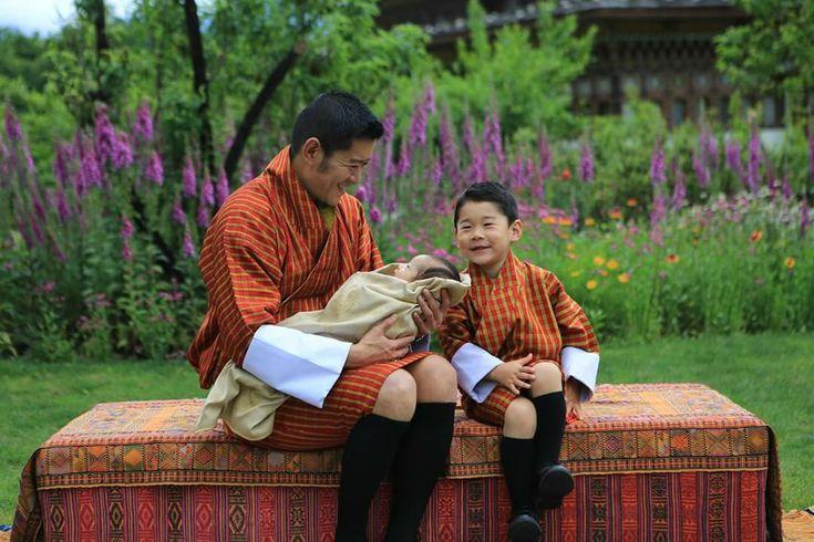 Our Beloved King And Gyalsey Konigin Bhutan Junges Leben
