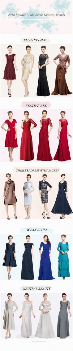 2016 Mother of the Bride Dresses Trends #JJsHouse