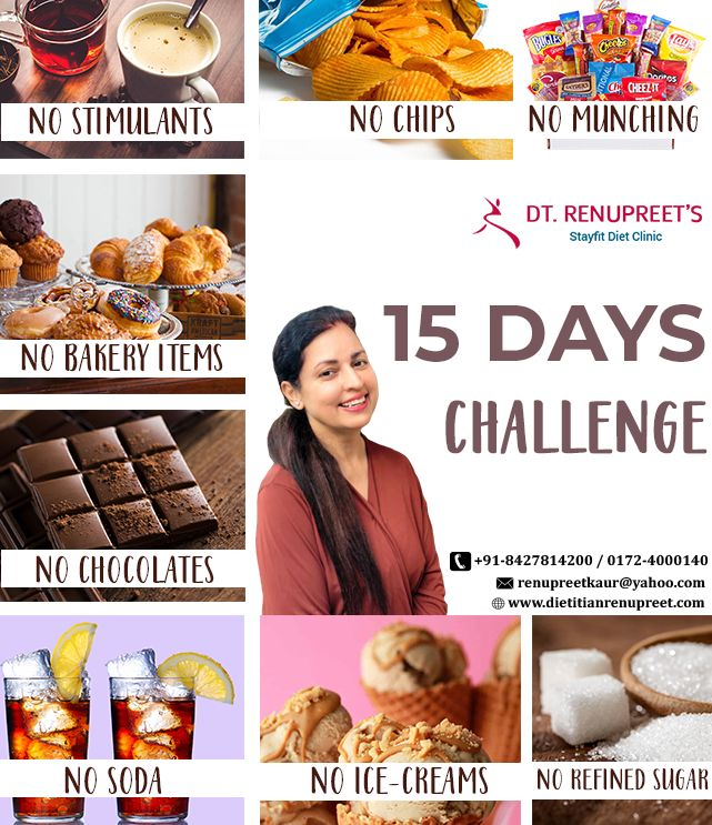 15 days challenge in 2020 Healthy lifestyle challenge
